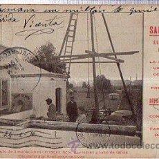 Postales: TARJETA POSTAL BARCELONA, PUBLICITARIA, AGUAS SANT GENIS, EMPLAZAMIENTO DE TRES MANANTIALES, A CUBA. Lote 36552118