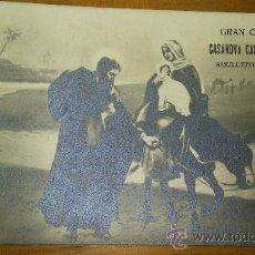 Postales: ANTIGUA TARJETA POSTAL COMERCIAL PUBLICIDAD GRAN CERERIA CASANOVA CATELLO AGULLENT VALENCIA 1919. Lote 36564848