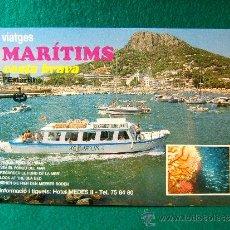 Postales: VIATGES MARITIMS COSTA BRAVA - GIRONA - HOTEL MEDES II - POSTAL - AÑOS 1990 ?. Lote 36775772