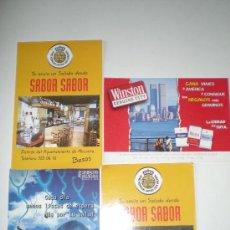 Postales: LOTE DE 4 POSTALES PUBLICITARIAS. Lote 37034522
