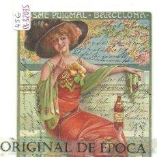 Postales: (PS-32075)POSTAL PUBLICITARIA DE COÑAC PUIGMAL,ILUSTRADOR CAMPS. Lote 37090774