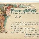 Postales: (PS-32183)POSTAL PUBLICITARIA DE BARCELONA-FABRICA DE ARTICULOS DE GOMA,AMIANTO Y GUTTAPERCHA M.FERR. Lote 37179263