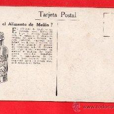 Postales: - 8542 BONITA POSTAL MADONA DE PUBLICIDAD QUE ES EL ALIMENTO MELLIN VER FOTOS ADICIONALES. Lote 37525254