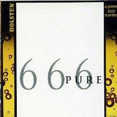 Postales: TARJETA POSTAL 1999 - REINO UNIDO - CERVEZA HOLSTEN / 666 PURE A POTENT…. Lote 293780868
