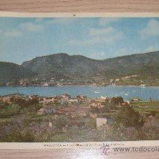 Postales: POSTAL MALLORCA VISTA GENERAL DEL PUERTO DE ANDRAITX PUBLICIDAD LABORATORIO FORTUNY. Lote 37910581