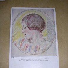 Postales: POSTAL LAPICES STAEDTLER P.180 MARS POLYCOLOR Nº 6886 - 14X9 CM. POSTAL CIRCULADA 1928. Lote 38021337