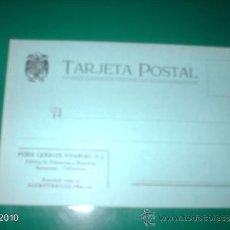 Postales: POSTAL PUBLICITARIA, AÑOS 40 DE ALCANTARILLA (MURCIA). Lote 39062116