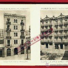 Postales: PEQUEÑO ALBUM INMUEBLES BANCO VITALICIO , DESPLEGABLE ,1912 ,CON 12 VISTAS , ORIGINALES. Lote 39421197