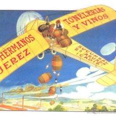 Postales: PAZ HERMANOS, TONELERIAS Y VINOS, JEREZ. Lote 39537039