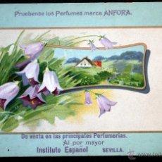 Postales: POSTAL PERFUMES ANFORA - PUBLICIDAD - COLOR ESCRITA 1925 - SIN CIRCULAR. Lote 39911509