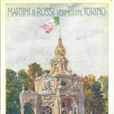 Postales: PS0559 POSTAL PUBLICITARIA DE MARTINI&ROSSI - AÑOS 20. Lote 40226379