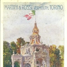 Postales: PS0558 POSTAL PUBLICITARIA DE MARTINI&ROSSI - AÑOS 20. Lote 40226383