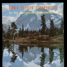 Postales: TARJETA PUBLICITARIA FARMACEUTICA * DIACIBRON * PUBLICIDAD DE LABORATORIO EMYFAR, SL. BARCELONA. Lote 40674726