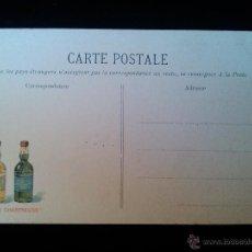 Postales: ANTIGUA POSTAL ORIGINAL PUBLICIDAD LICOR CHARTREUSE. Lote 40800084