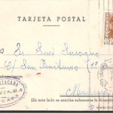 Postales: TARJETA POSTAL COMERCIAL TARRASA TERRASSA 1956 DE M. SANTACANA. Lote 40865721