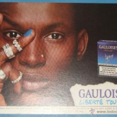 Postales: POSTAL PUBLICITARIA. TABACO TABACOS GAULOISES, MUJER AFRICANA. 712. Lote 40977502