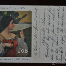 Postales: POSTAL COLLECTION JOB. CALENDRIER 1905. MAXENCE. . Lote 41058928