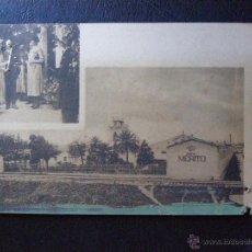 Postales: ANTIGUA POSTAL DE LA VISITA DE LA REINA VICTORIA EUGENIA A LAS BODEGAS MERITO Y MISA DE JEREZ -. Lote 41129569