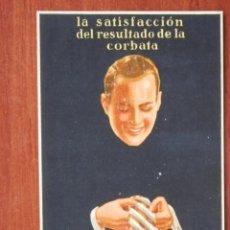 Postales: ORPLID CORBATAS Y PAÑUELOS POSTAL PUBLICITARIA ANTIGUA. Lote 41252096