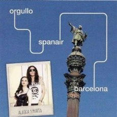 Postales: ALASKA Y MARIO VAQUERIZO - ORGULLO GAY - PRIDE BARCELONA 2011 . Lote 41534813