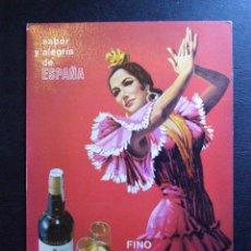 Postales: ANTIGUA POSTAL PUBLICITARIA - FINO LA INA ESTÁ FORMIDABLE - SABOR Y ALEGRÍA DE ESPAÑA -. Lote 41580250