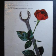 Postales: POSTAL PUBLICITARIA - IBERIA - MANTENIMIENTO - ESCRITA.. Lote 41580331