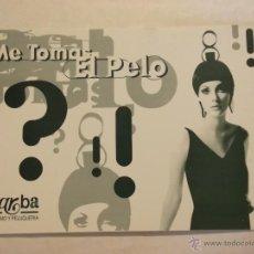 Postales: INTERESANTE POSTAL PUBLICITARIA. ESTILISMO Y PELUQUERIA. MARBA. BARCELONA. Lote 41581505