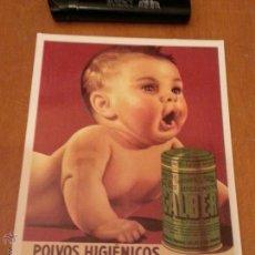 Postales - postal publicitaria polvos higienicos calber - 41727435