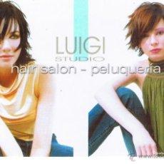Postales: POSTAL: HAIR SALON - PELUQUERIA. LUIGI STUDIO. SEVILLA. Lote 41835581