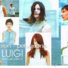 Postales: POSTAL: HAIR SALON - PELUQUERIA. LUIGI STUDIO. SEVILLA. Lote 41835726