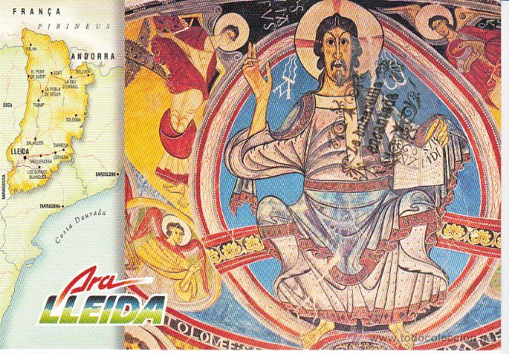 POSTAL - ARA LLEIDA - REVERSO EN INTERIOR (Postales - Postales Temáticas - Publicitarias)