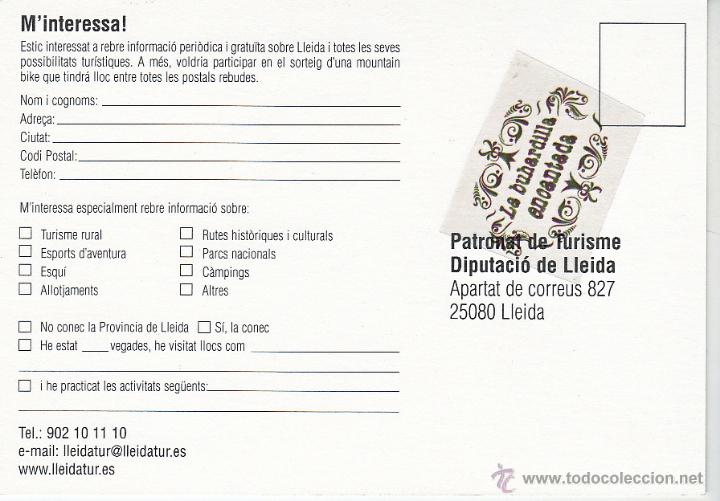 Postales: POSTAL - ARA LLEIDA - REVERSO EN INTERIOR - Foto 2 - 42159085