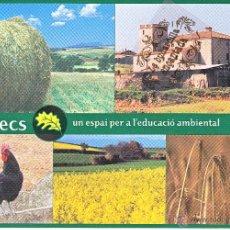 Postales: POSTAL - GALLECS UNA AGRICULTURA SOSTENIBLE - REVERSO EN INTERIOR. Lote 42159160
