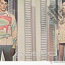 Postales: POSTAL - PUBLICITARIA CUSTO BARCELONA - REVERSO EN INTERIOR. Lote 42288074