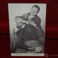 Postales: POSTAL PUBLICITARIA DE CHOCOLATE-AMATLLER. BARCELONA. SIN CIRCULAR. Lote 42517704