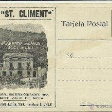 Postales: (PS-39693)POSTAL PUBLICITARIA AGUA ST.CLIMENT. Lote 42651859