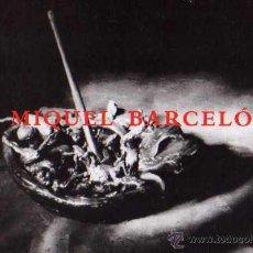 Postales: MIQUEL BARCELÓ PINTURAS Y ESCULTURAS ESCRITA CIRCULADA SELLO. Lote 42934253
