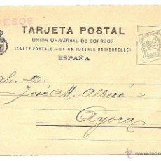Postales: MADRID - TARJETA POSTAL ASOCIACION DE LA LIBRERIA DE ESPAÑA - AÑO 1917 . Lote 43019360