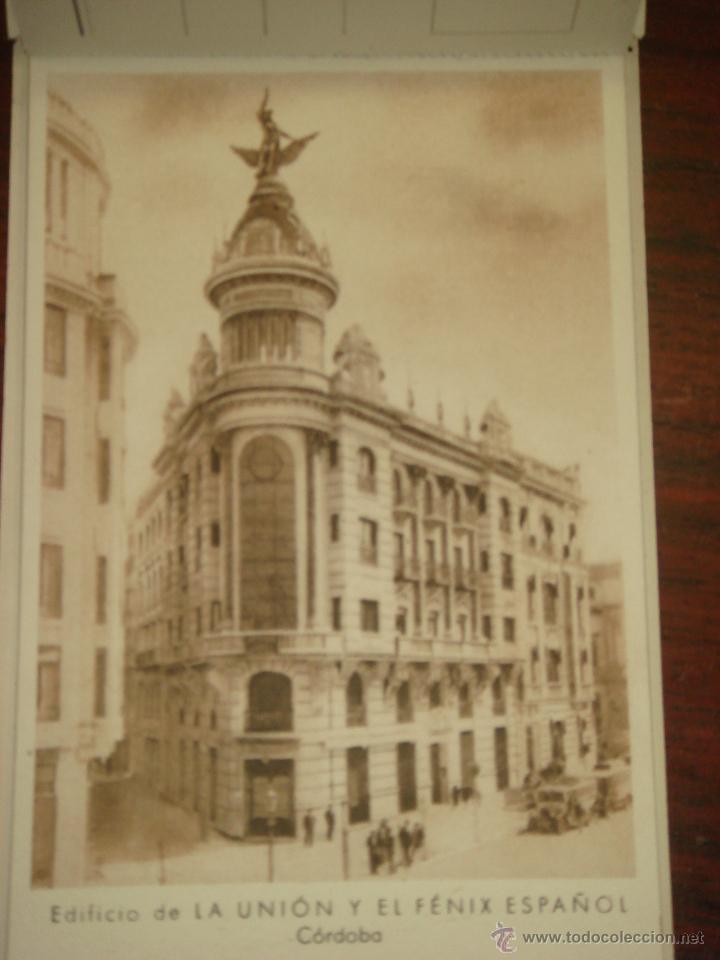 Postales: ANTIGUO ALBUM DE 12 POSTALES DE LA UNIÓN Y EL FÉNIX ESPAÑOL. SIN CIRCULAR. - Foto 4 - 43075104