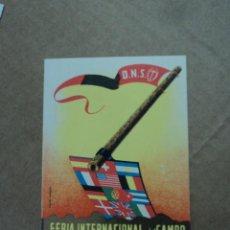 Postales: FERIA INTERNACIONAL DEL CAMPO MADRID 1953. Lote 43265236