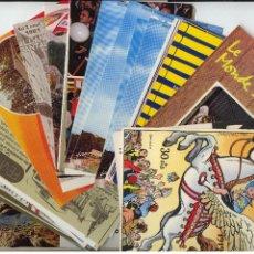 Postales: 77 POSTALES PUBLICITARIAS. AÑOS 60-80. LA MAYORIA SIN CIRCULAR. Lote 43395343