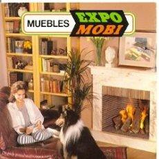 Postales: 72-PUBLI19. POSTAL REVISTA MUEBLES EXPO MOBI 1992. Lote 43397438