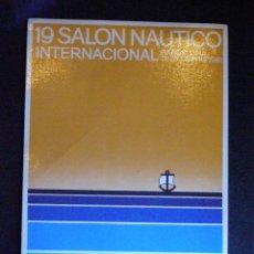 Postales: POSTAL - 19 SALÓN NAUTICO INTERNACIONAL - BARCELONA 1981 -. Lote 43598265