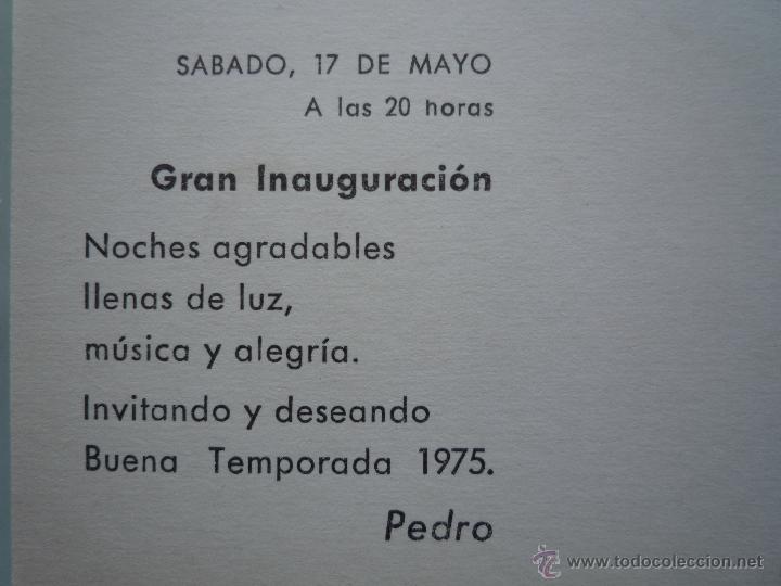 Postales: Postal Publicidad 1967 *PEDRO LA CAMPANA* Lloret de Mar Costa Brava Foto Mas Sellos 2213 Hispanidad - Foto 4 - 43674201