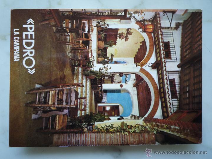 Postales: Postal Publicidad 1967 *PEDRO LA CAMPANA* Lloret de Mar Costa Brava Foto Mas Sellos 2213 Hispanidad - Foto 6 - 43674201