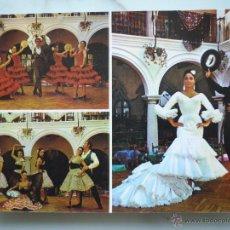 Postales: POSTAL PUBLICIDAD 1975 NIGHT CLUB ANDALUZ TABLAO FLAMENCO *EL RELICARIO* LLORET DE MAR. COSTA BRAVA.. Lote 43674516