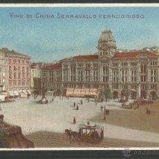 Postales: PUBLICIDAD FARMACIA SERRAVALLO - TRIESTE- CONJUNTO 4 POSTALES TARJETAS - VER REVERSO - (23324). Lote 43770071