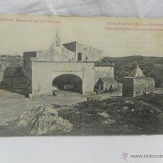 Postales: TORTOSA. ERMITA DEL COLL DEL ALBA. PUBLICIDAD JARABE CLIMENT.. Lote 43925213