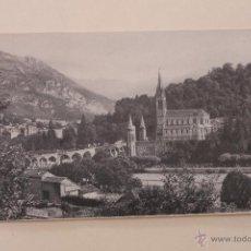 Postales: TARJETA PUBLICIDAD LOURDES, GALERIA PARISIENNES.. Lote 44282447