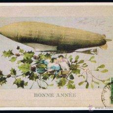 Cartoline: POSTAL ANTIGUA HISTORIA GRÁFICA DEL SIGLO XX. IMPR. MATEU CROMO - BONNE ANNÉE.. Lote 44854841